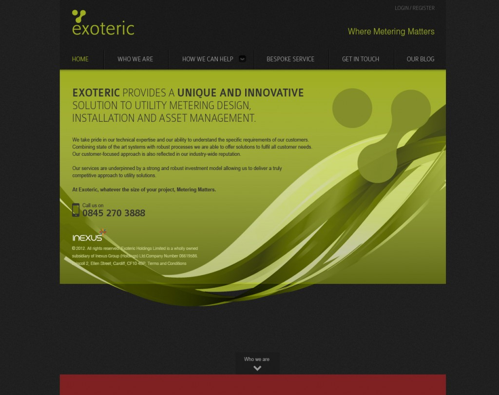 Exoteric-Homepage