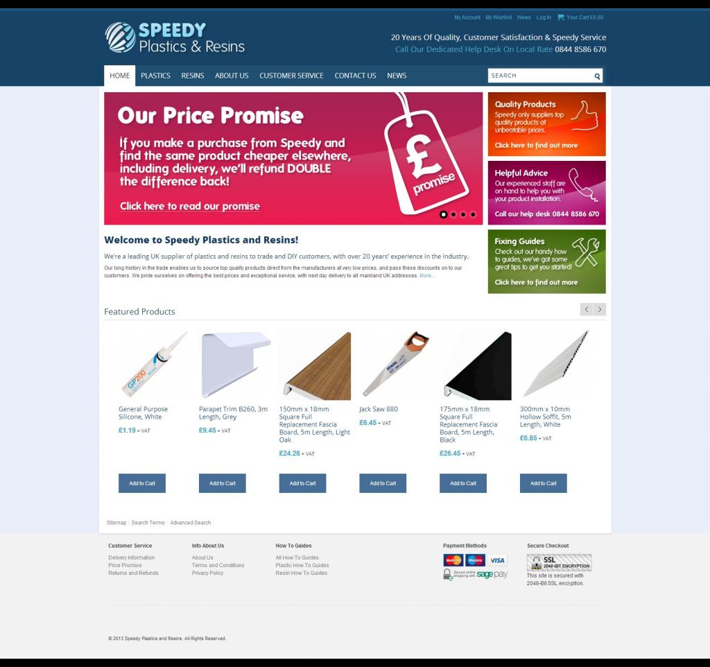 Speedy-homepage