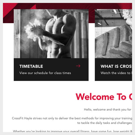 Crossfit Hayle Timetable
