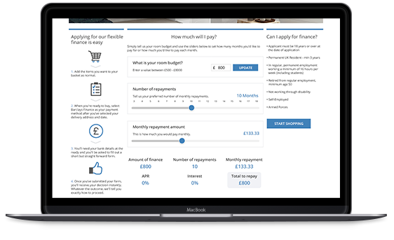 barclays finance store web uk