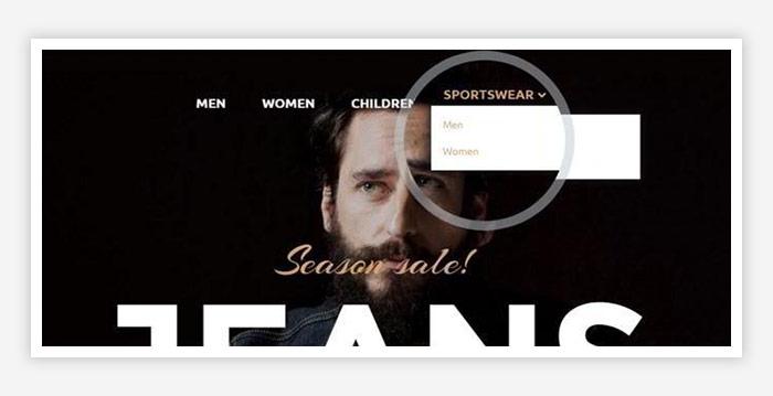 free magento 2 luma template design v F2