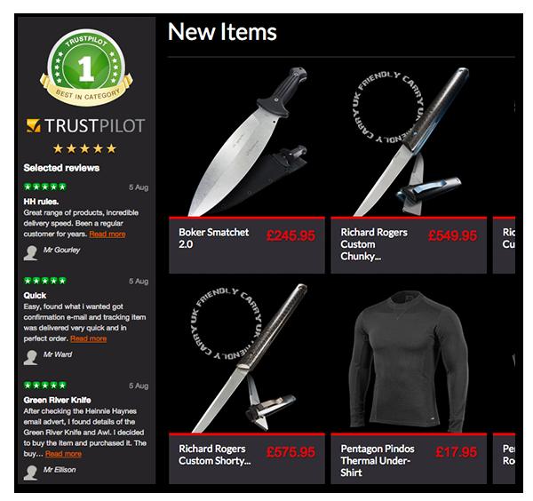 website trustpilot hh design