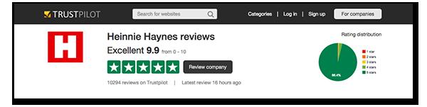 design review product trustpilot