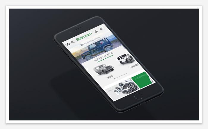 good web design in mobile friendliness